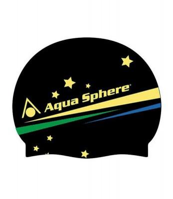 Aquasphere Brasil Cap Black