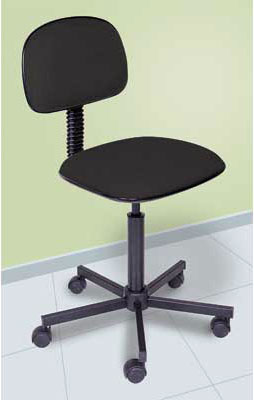 Helical Chair Secretary Black Multivision