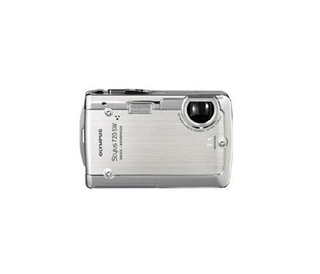 Olympus Stylus 720SW 7.1MP Ultra Slim Digital Camera with 3x Opt