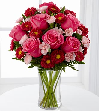 The Precious Heart Bouquet - VASE INCLUDED