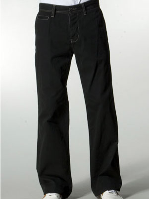 Twill Khaki Pant in Abyss
